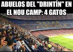 Enlace a Diferencia de público entre un partido de Leyendas del Real Madrid y del Barça