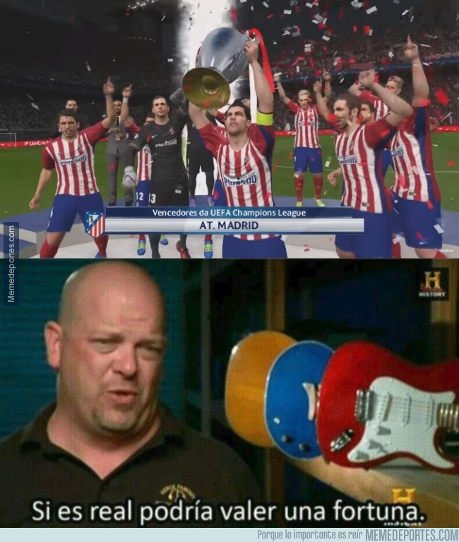 981578 - El Atlético ganando una Champions