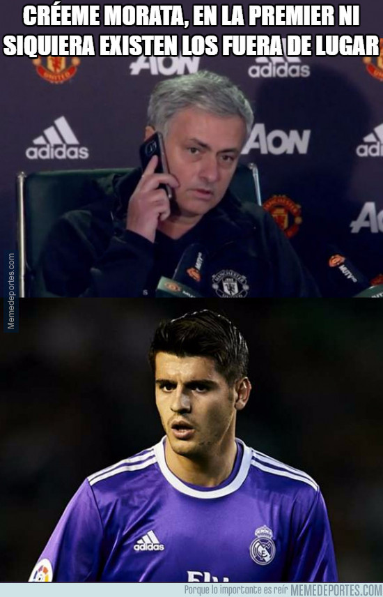 981625 - Mourinho intentando convencer a Morata