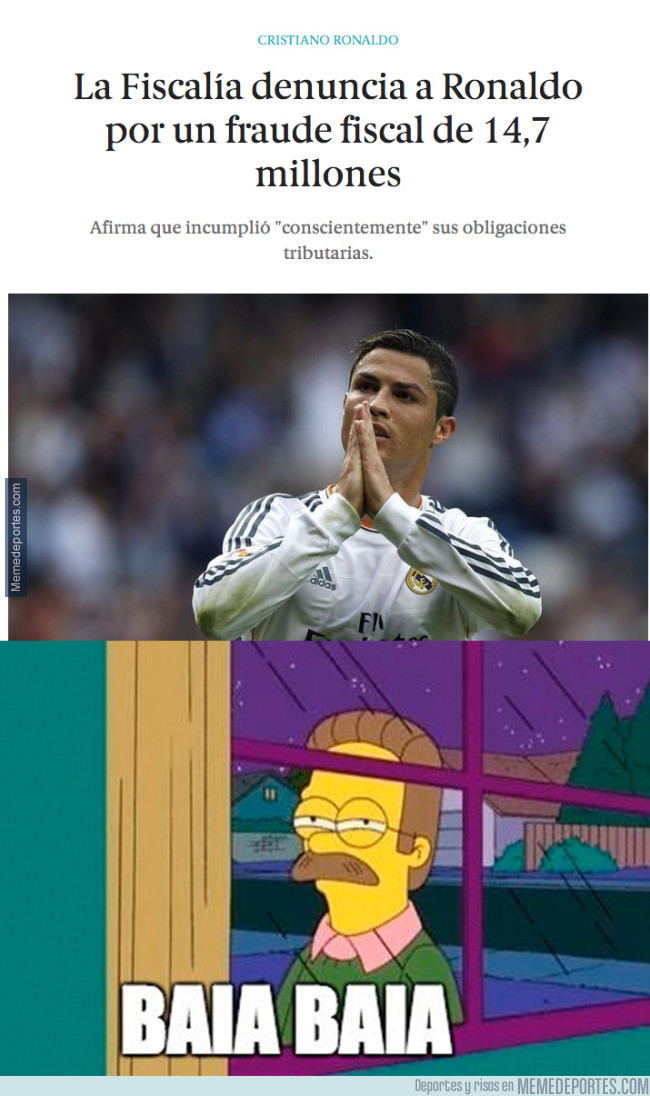 981712 - ¡Cristiano Ronaldo denunciado por defraudar 15 millones de €!