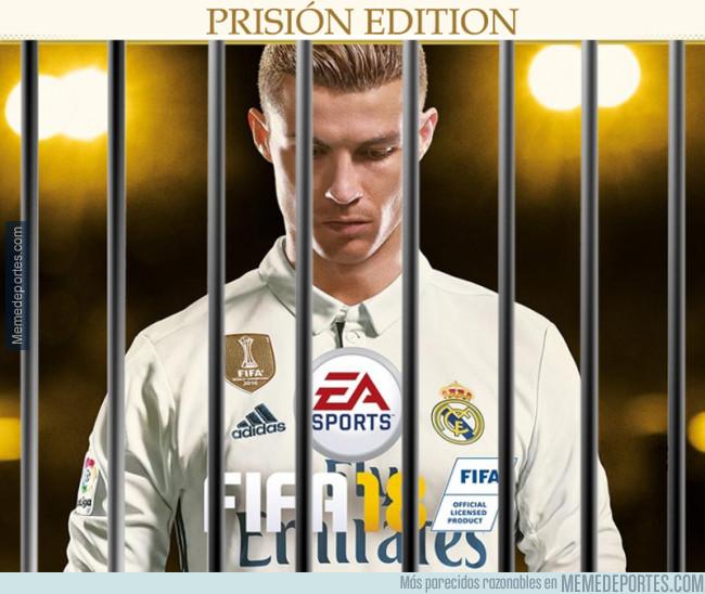 981734 - Se filtra la nueva portada de FIFA 18 tras conocerse la denuncia de la Fiscalía a Cristiano