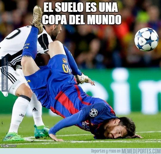 981826 - Messi también se apunta a jugar al suelo es...