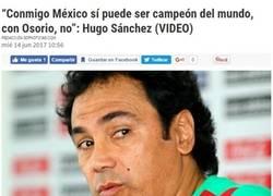 Enlace a Las palabras de Hugo Sánchez sobre la dirección de México