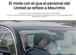 Enlace a El nuevo mote de Mourinho con el que se está partiendo de risa todo el Mundo
