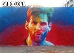 Enlace a Graffittis de jugadores por el mundo