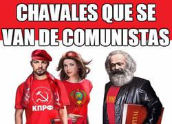 Enlace a Comunistas por moda