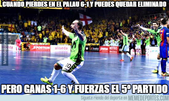 982547 - Tremendo lo del Inter Movistar en futsal