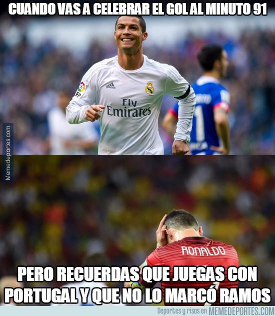 982652 - La historia de Ronaldo es muy diferente con Portugal