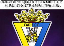 Enlace a La mala suerte del Cádiz