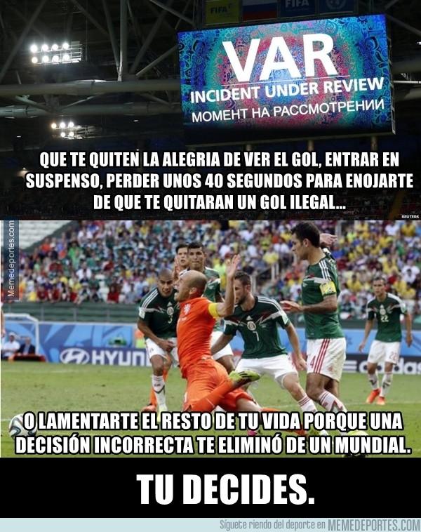 982817 - ¿Las injusticias son 'la esencia del fútbol'?