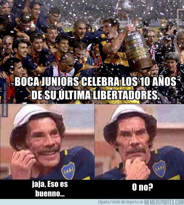 982973 - Boca cumple 10 años de su última Libertadores