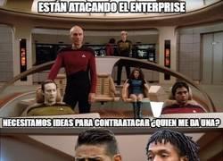 Enlace a Escenas inéditas de Star Trek en Colombia