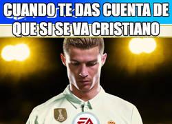 Enlace a Nadie se ha dado cuenta de lo que pasaría si Cristiano se va del Madrid