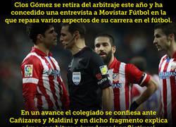 Enlace a El árbitro que desvela lo que sufría cuando Costa jugaba en el Atleti