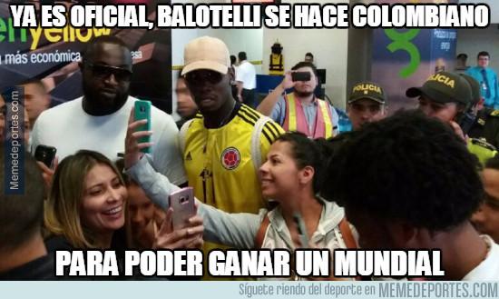 983451 - Ya es oficial, Balotelli se hace colombiano