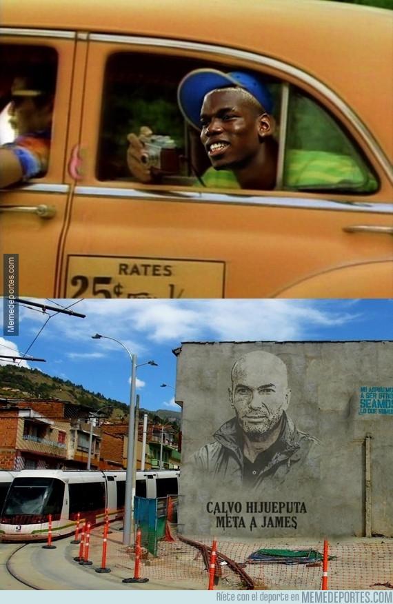 983528 - Pogba llegando a Colombia de visita