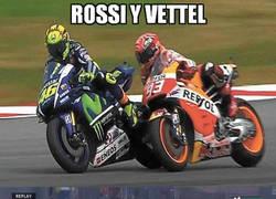 Enlace a Rossi y Vettel, tal para cual