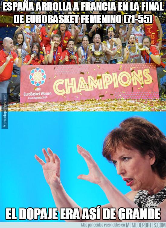 983818 - España arrolla a Francia en la final de Eurobasket femenino (71-55)