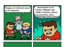 Enlace a No todo es violencia, a no ser...