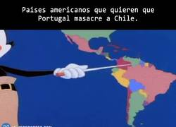 Enlace a GIF: Aficionados portugueses en América