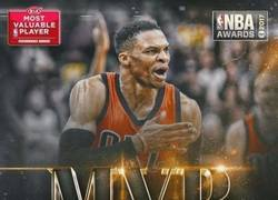 Enlace a 'Mr. Triple-doble' Westbrook recoge el testigo de Curry como MVP de la NBA