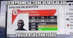 Enlace a Vaya nombre esta promesa que me ha creado el FIFA 17