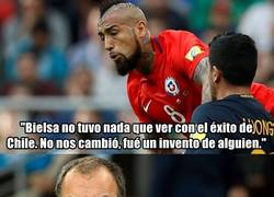 Enlace a Bielsa responde a las declaraciones de Vidal de la forma más ofensiva posible