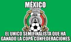 Enlace a México, el único campeón entre los cuatro