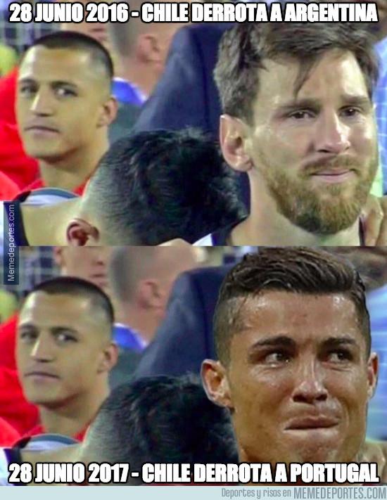 984311 - Ni Messi ni Cristiano pueden con Chile