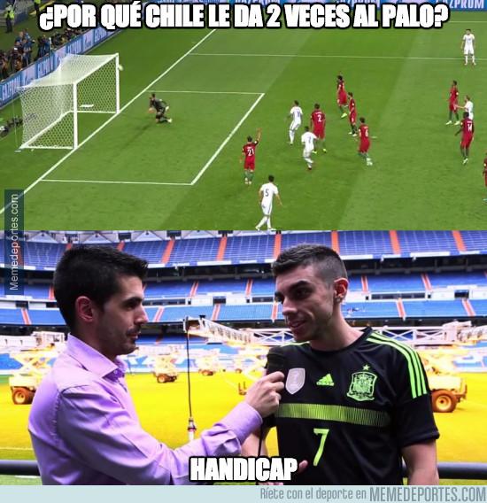 984427 - ¿Por qué Chile le da 2 veces al palo?