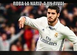 Enlace a Morata no tienes vergüenza, sanción ya xD