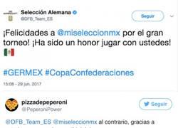 Enlace a Alemania felicita a México en Twitter y los mexicanos contestaron con joyas