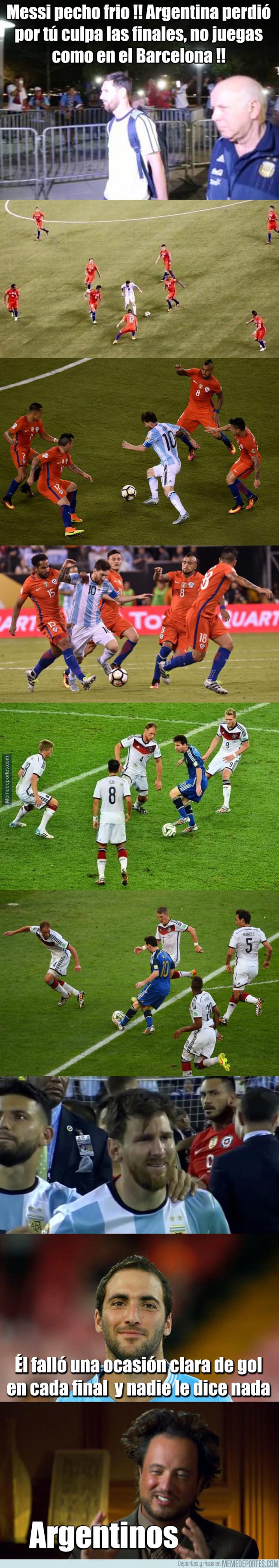 984827 - La injusticia que sufre Messi con su selección