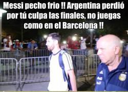 Enlace a La injusticia que sufre Messi con su selección