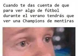 Enlace a Prefiero la Liga Promises a la Champions del verano
