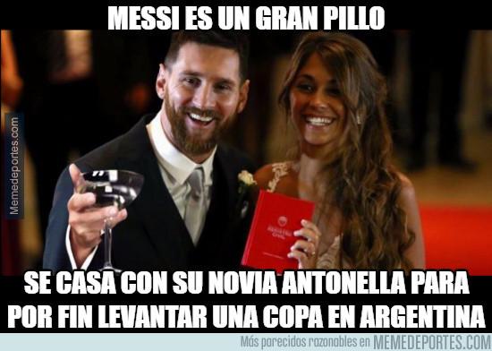 985269 - Messi lo tenía todo planeado