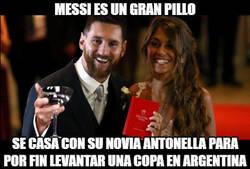 Enlace a Messi lo tenía todo planeado