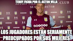 Enlace a Terry presentado por el Aston Villa