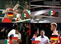 Enlace a En la versión alemana, Rocky pierde