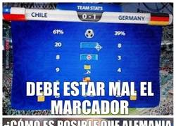 Enlace a Pep no entiende nada del Chile-Alemania