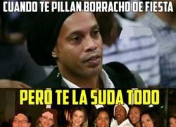 Enlace a Ronaldinho es el Dios de la fiesta