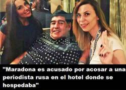 Enlace a ¿Usted no aprende, Maradona?