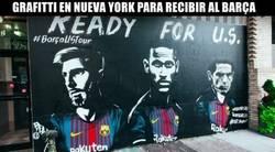 Enlace a En Nueva York ya están listos para recibir al Barça