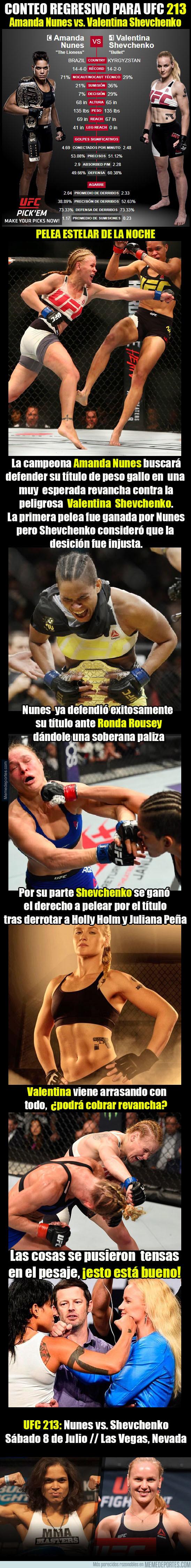 985952 - UFC 213: Amanda Nunes vs. Valentina Shevchenko