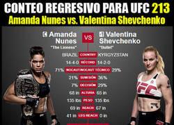Enlace a UFC 213: Amanda Nunes vs. Valentina Shevchenko