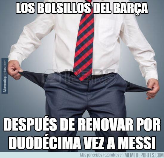 985957 - Así están los bolsillos del Barça