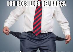 Enlace a Así están los bolsillos del Barça