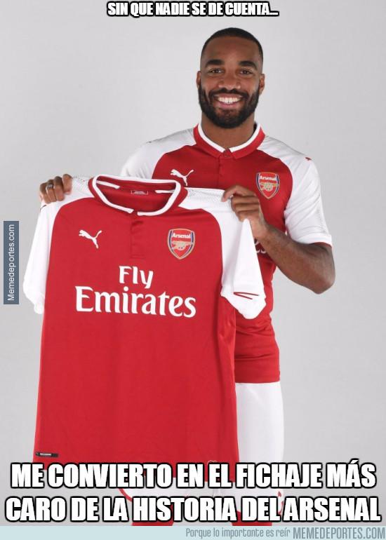 985998 - Lacazette, el fichaje más caro de la historia del Arsenal, 53 millones