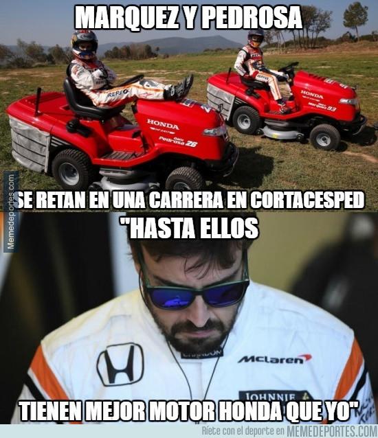 986002 - Alonso más enfadado aún si cabe con Honda