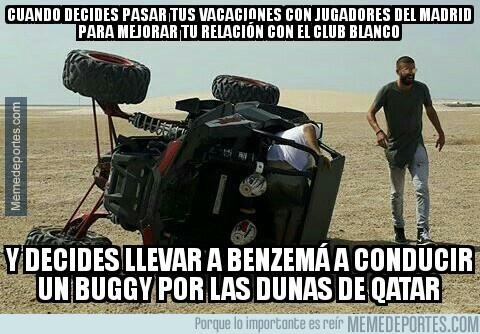 986096 - Lo que pasó con el buggy de Piqué